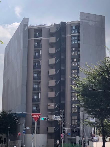 東京都 ザ・パークハウス三鷹レジデンス 光触媒外壁施工