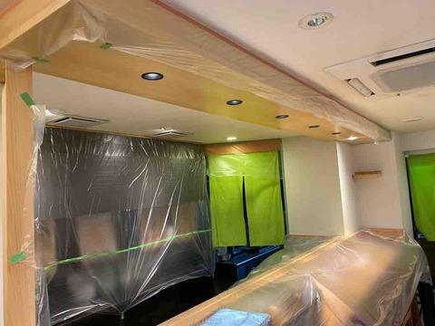 神奈川県平塚市 和恵美食「佐の辰」様 光触媒内装施工