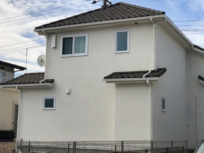 東京都小平市 一般住宅 外壁光触媒施工