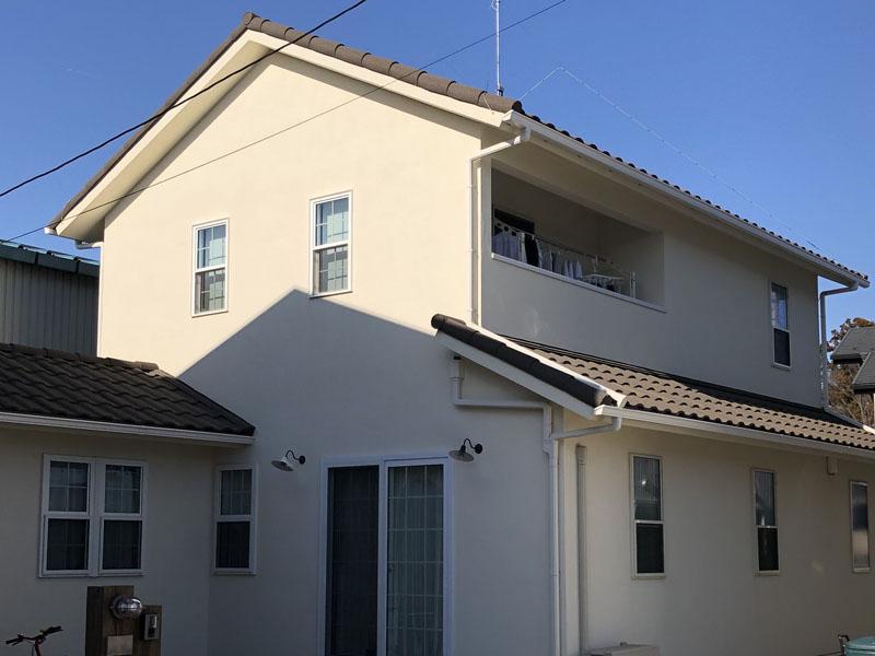 埼玉県鶴ヶ島市 一般住宅 外壁光触媒施工