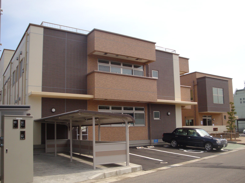 福井県 某児童養護施設 外壁光触媒施工