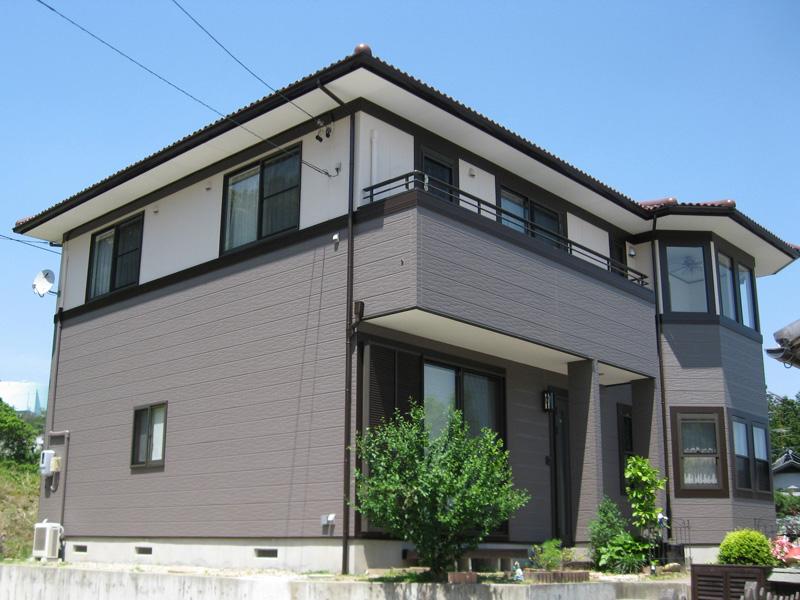 静岡県浜松市 一般住宅 外壁光触媒施工