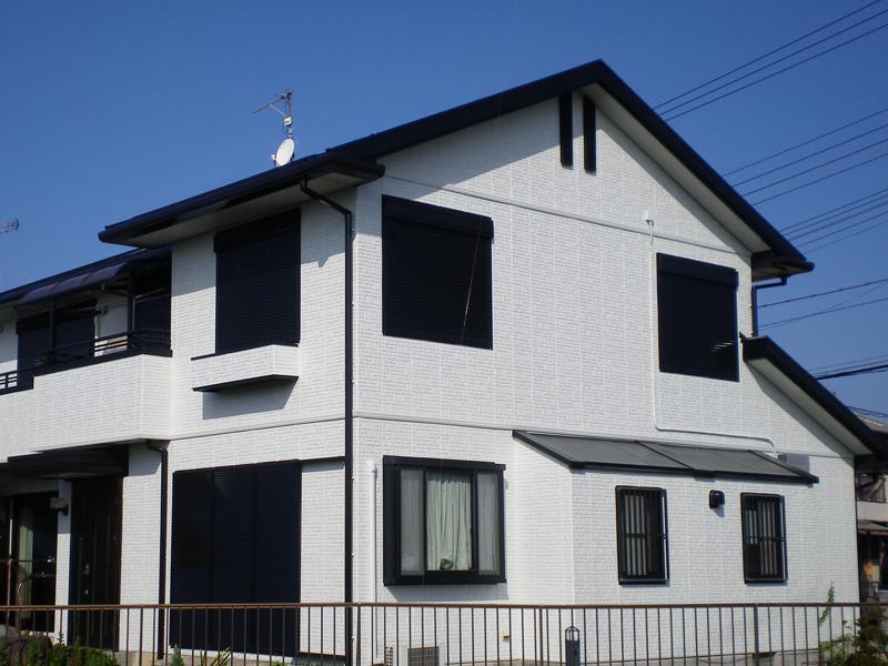 兵庫県加古川市  一般住宅 外壁光触媒施工