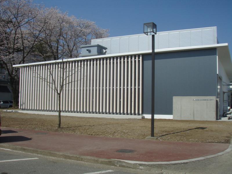 宇都宮市 自治医科大学実験施設 外壁光触媒施工