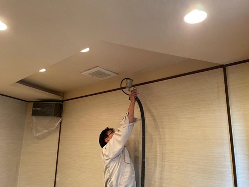 和歌山市 スナック「Ke~華」   光触媒内装施工