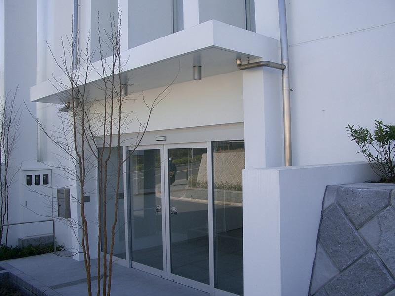 川崎市麻生区 万福寺会館 外壁光触媒施工