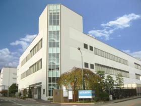 兵庫県 三菱電機三田製作所 外壁光触媒施工